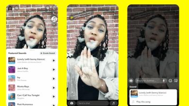 صورة سناب شات تطلق ميزة إضافة الأصوات الجديدة لمستخدمي التطبيق