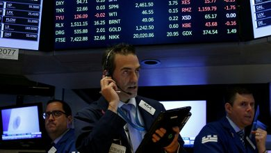 صورة ارتفاع العقود الآجلة للأسهم الأمريكية على خلفية تقدم صحة ترامب